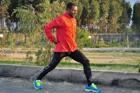 Kenenisa Bekele Ethiopian distance running great and 5,000 and 10,000 meters world record holder Kenenisa Bekele trains in Addis Ababa, Ethiopia. Bekele says he took up distance running because of the prodigious achievements of the great Haile Gebrselassie and he now wants to prove he's better than his idol