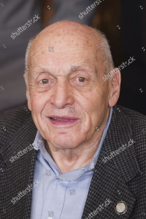 """Harry Ettlinger attends the French Premiere of """"The Monuments Men"""" in Paris"""