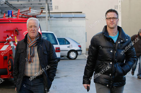 Rolf Schumacher, Ralf Schumacher Michael Schumacher's father Rolf, left, and brother Ralf arrive at Grenoble Hospital, French Alps, where former seven-time Formula One champion Michael Schumacher is being treated after sustaining a head injury during a ski accident. Schumacher has been in a medically induced coma since Sunday, Dec. 29, 2013, when he struck his head on a rock while on a family vacation