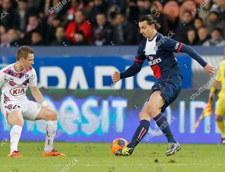 Editorial image of France Soccer PSG Bordeaux, Paris, France