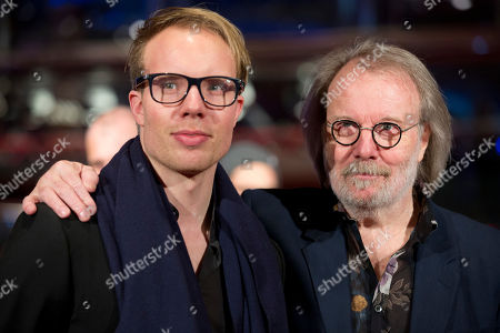Benny Andersson Swedish musician Benny Andersson, right, arrives with his son Ludvig Andersson for the screening of the film The Monuments Men during the International Film Festival Berlinale, in Berlin