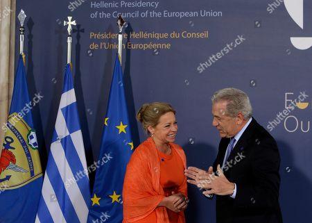 Editorial photo of Greece EU Presidency, Athens, Greece