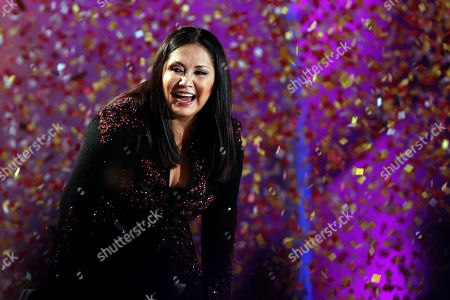 Ana Gabriel Mexican singer Ana Gabriel performs at the Vina del Mar International Song Festival in Vina del Mar, Chile. Gabriel and Cuban jazz player Arturo Sandoval will be honored with the Hispanic Heritage Awards