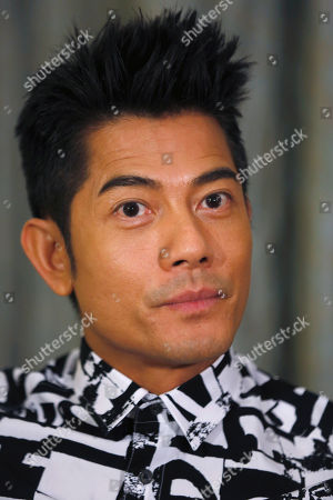 "Aaron Kwok In photo, Hong Kong veteran actor and performer Aaron Kwok speaks during an interview in Hong Kong. Aaron Kwok says he brought out a softer side of a classic villain, the Bull Demon King. Kwok plays the character in the new 3-D fantasy film, ""The Monkey King."" He joins a stellar ensemble cast that includes other A-listers like Donnie Yen, Chow Yun Fat, and Kelly Chan"