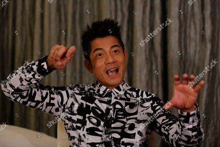 "Aaron Kwok Hong Kong veteran actor and performer Aaron Kwok speaks during an interview in Hong Kong. Kwok says he brought out a softer side of a classic villain, the Bull Demon King. Kwok plays the character in the new 3-D fantasy film, ""The Monkey King."" He joins a stellar ensemble cast that includes other A-listers like Donnie Yen, Chow Yun Fat, and Kelly Chan"