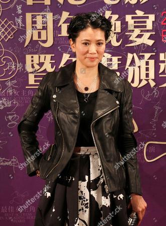 Stock Picture of Anita Yuen Hong Kong actress Anita Yuen poses during the annual dinner of the Hong Kong Film Directors' Guild