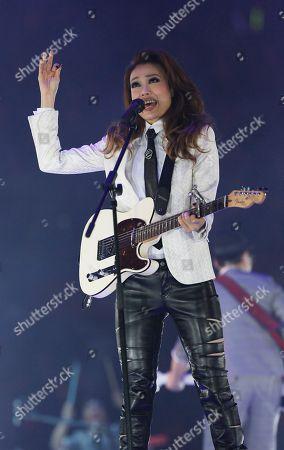Joey Yung Hong Kong singer Joey Yung performs during her concert in Hong Kong