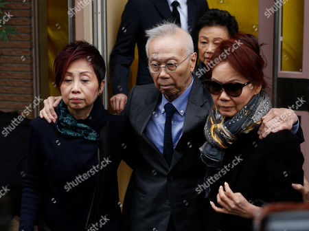 "Harold Shaw Harold Shaw, center, son of the late Hong Kong movie producer Run Run Shaw leaves the funeral at Cape Collinson Crematorium in Hong Kong . Shaw built a Hong Kong movie and TV empire that nurtured rising talents like actor Chow Yun-fat and director John Woo, inspired Hollywood filmmakers such as Quentin Tarantino and produced the 1982 sci-fi classic ""Blade Runner."" Pioneering Hong Kong movie producer Shaw died on Tuesday at the age of 107"