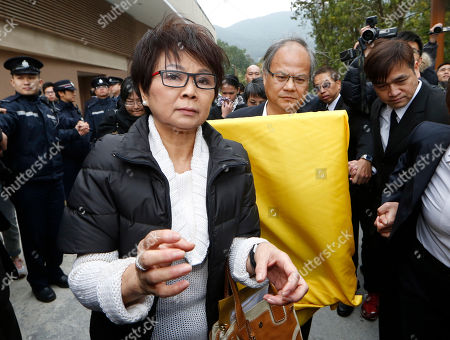 "People leave the funeral of the late Hong Kong movie producer Run Run Shaw at Cape Collinson Crematorium in Hong Kong . Shaw built a Hong Kong movie and TV empire that nurtured rising talents like actor Chow Yun-fat and director John Woo, inspired Hollywood filmmakers such as Quentin Tarantino and produced the 1982 sci-fi classic ""Blade Runner."" Pioneering Hong Kong movie producer Shaw died on Tuesday at the age of 107"