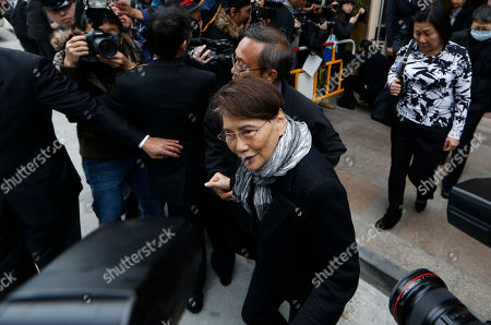 "Mona Fong Mona Fong, wife of the late Hong Kong movie producer Run Run Shaw leaves the funeral at Cape Collinson Crematorium in Hong Kong . Run Run Shaw built a Hong Kong movie and TV empire that nurtured rising talents like actor Chow Yun-fat and director John Woo, inspired Hollywood filmmakers such as Quentin Tarantino and produced the 1982 sci-fi classic ""Blade Runner."" Pioneering Hong Kong movie producer Shaw died on Tuesday at the age of 107"