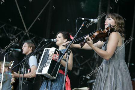 Arcade Fire - Win Butler, Regine Chassagne and Sarah Neufeld