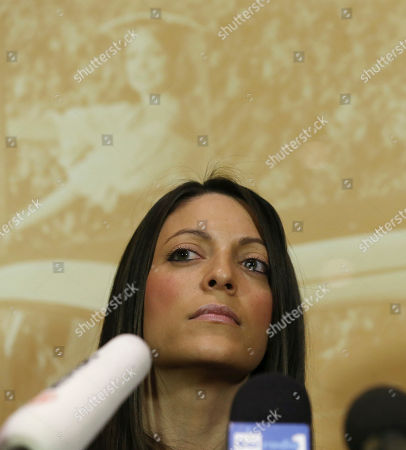Stephanie Kercher Meredith Kercher's sister Stephanie listens reporters' questions during a press conference in Florence, Italy, the day after an appeals court sentenced Amanda Knox to 28 ½ years in prison and her former boyfriend Raffaele Sollecito to 25 years for the 2007 murdering of Meredith Kercher in Perugia, central Italy. For Kercher's family, the verdict was another step in what has been more than six years of uncertainty about how Meredith died and finding justice