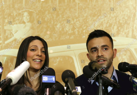 Stephanie Kercher, Lyle Kercher Meredith Kercher's sister Stephanie, left, and brother Lyle, talk during a press conference in Florence, Italy, the day after an appeals court sentenced Amanda Knox to 28 ½ years in prison and her former boyfriend Raffaele Sollecito to 25 years for the 2007 murdering of Meredith Kercher in Perugia, central Italy. For Kercher's family, the verdict was another step in what has been more than six years of uncertainty about how Meredith died and finding justice