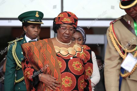 Malawi's President Joyce Banda attends a seminar on security during an event marking the centenary of the unification of Nigeria's north and south in Abuja, Nigeria