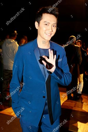 Feng Shaofeng Chinese actor Feng Shaofeng attends the Dior men's Fall-Winter 2014-2015 fashion collection, presented in Paris