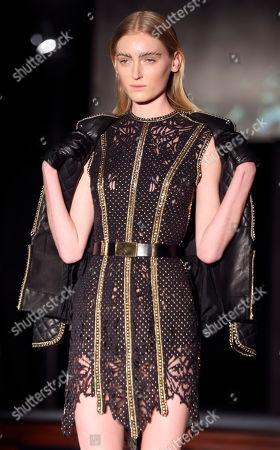 Editorial photo of Paris Fashion Tex SAverio, Paris, France