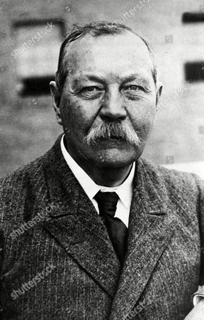Arthur Conan Doyle This 1930 photo shows Sir Arthur Conan Doyle, the author and creator of Sherlock Holmes. Writer Leslie Klinger is challenging the Conan Doyle Estate, LTD over the right to use the Sherlock Holmes character in new tales