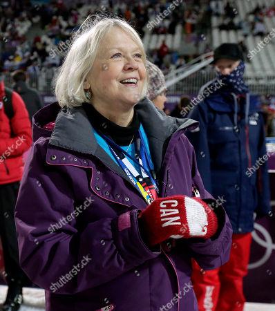 Editorial picture of Sochi Olympics Freestyle Skiing Women, Krasnaya Polyana, Russia