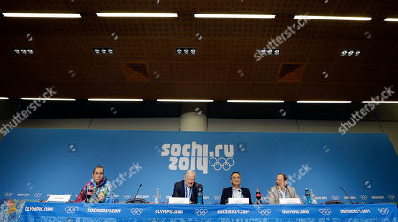 Gary Bettman, Rene Fasel, Don Fehr, Graham Parks Graham Parks, left, moderates a news conference with NHL Players' Association Executive Director Don Fehr, second from left; International Ice Hockey Federation President Rene Fasel; second from right, and NHL Commissioner Gary Bettman, right; at the 2014 Winter Olympics, in Sochi, Russia