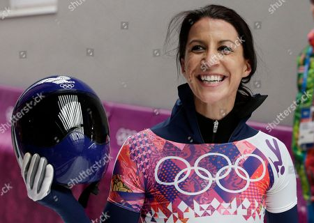 Editorial image of Sochi Olympics Skeleton Women, Krasnaya Polyana, Russia