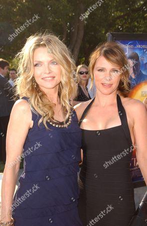 Michelle Pfeiffer and Sister Dedee Pfeiffer