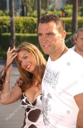 Vinnie Jones with Wife Tanya Jones