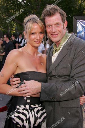 Jason Flemyng and Elly Fairman