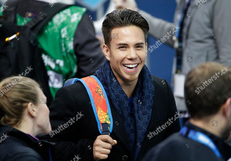 Apolo Anton Ohno Former United States short track speed skating Olympian Apolo Anton Ohno attends a training session for the U.S. team at the Iceberg Skating Palace at the 2014 Winter Olympics, in Sochi, Russia