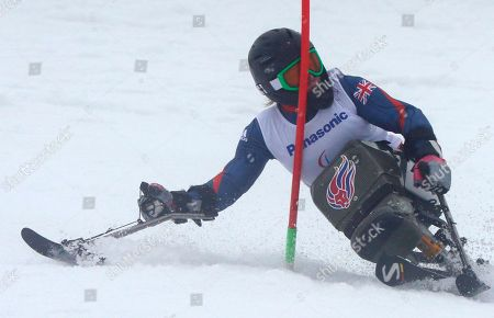 Editorial photo of Sochi Paralympics Alpine Skiing Women, Krasnaya Polyana, Russia