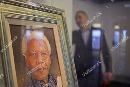 Editorial picture of South Africa Mandela Art, Cape Town, South Africa
