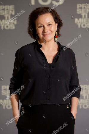 Clara Sanchez Spanish novelist Clara Sanchez poses for photographers during the presentation of the new film 'Presentimientos' in Madrid, Spain