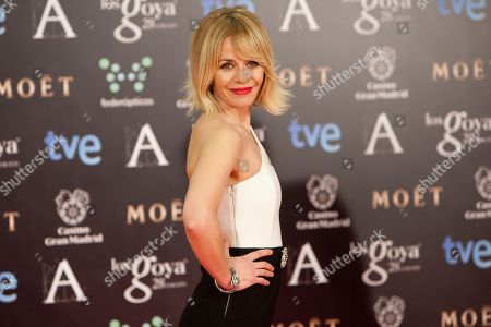 Maria Adanez Spanish actress Maria Adanez poses for photographers on the red carpet before the Goya Film Awards Ceremony in Madrid, Spain