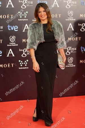 Ivonne Reyes Spanish actress Ivonne Reyes poses for photographers on the red carpet before the Goya Film Awards Ceremony in Madrid, Spain