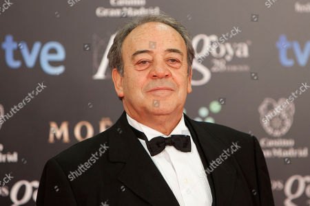 Tito Valverde Spanish actor Tito Valverde poses for photographers on the red carpet before the Goya Film Awards Ceremony in Madrid, Spain