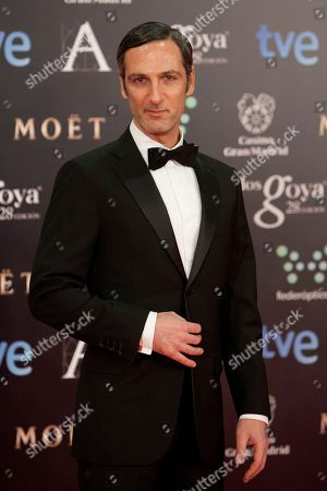 Hector Alterio Spanish actor Hector Alterio poses for photographers on the red carpet before the Goya Film Awards Ceremony in Madrid, Spain