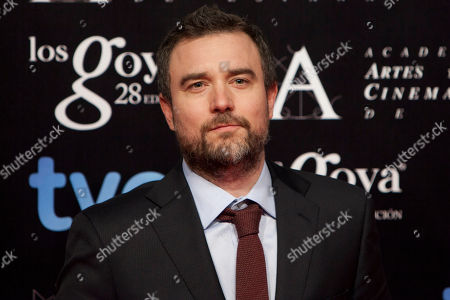 Esteban Crespo Spanish director Esteban Crespo poses for photographers before the Gala of Nominees to Goya Awards 2014 in Madrid, Spain