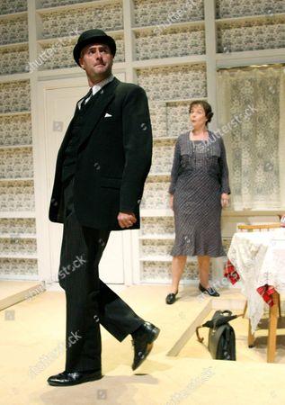 Gladly Otherwise by N F Simpson - John Hodgkinson (Man) and Judith Scott (Mrs Brandywine)