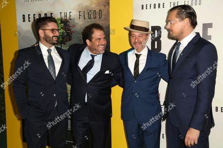 Tim Pastore, Brett Ratner, Fisher Stevens, Leonardo DiCaprio,