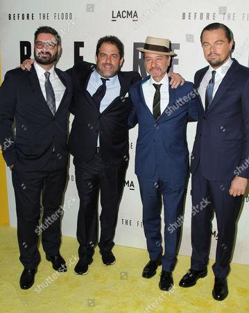 Tim Pastore, Brett Ratner, Fisher Stevens, Leonardo DiCaprio
