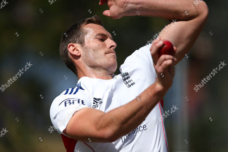 Chris Tremlett England's cricket player Chris Tremlett bowls in the nets during training in Hobart, Australia, . England will play Australia A in a four-day tour match from Wednesday