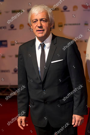 """Stock Photo of Thierry Ragobert French director Thierry Ragobert poses for photos as he arrives for the premiere of his film """"Amazonia"""" at the opening of the Rio de Janeiro Film Festival in Rio de Janeiro, Brazil"""