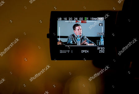 """Glenn Greenwald Journalist Glenn Greenwald is seen on a video screen during a panel following the screening of the """"Dirty Wars"""" documentary at the Rio Film Festival in Rio de Janeiro, Brazil, . Greenwald, who has thousands of leaked National Security Archive documents, participated on a panel with American journalist Jeremy Scahill following the screening of the documentary """"Dirty Wars"""" based on his book by the same name about covert operations"""