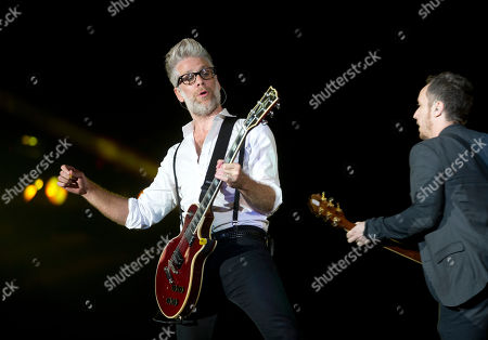 Stock Picture of Kyle Cook, Brian Yale Kyle Cook, left, and Brian Yale of Matchbox Twenty performs during the annual Rock in Rio music festival in Rio de Janeiro, Brazil, . More than 80 thousand people a day are expected to attend the week-long event which features over 120 bands and artists and runs from runs until Sunday. Conceived by the entrepreneur Roberto Medina, the first Rock in Rio took place in the Rio de Janeiro in 1985