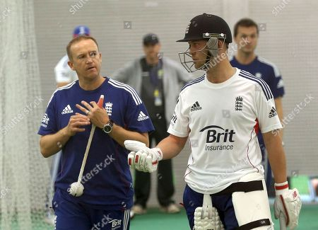 Stock Picture of Andy Flower, Graeme Swann Flower left his post as head coach of England's test team on Friday Jan. 31 2014 in the wake of a humiliating Ashes whitewash by Australia, ending a five-year reign in which he oversaw the most successful period of the national side's recent history