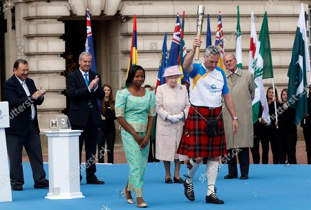 Editorial picture of Britain Royals Commonwealth Games, London, United Kingdom