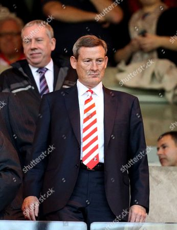 Ellis Short Sunderland's owner Ellis Short looks on from the stand ahead of their English Premier League soccer match against Manchester United at the Stadium of Light, Sunderland, England