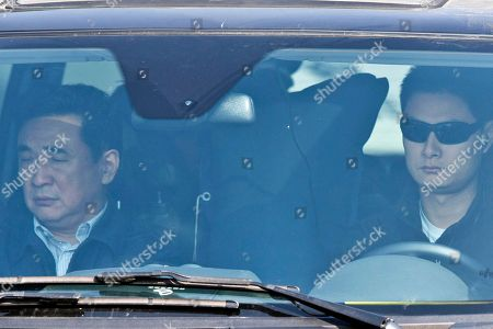 A van believed to be carrying ousted Chinese politician Bo Xilai drives out of Shandong Provincial Higher People's Court in Jinan, in eastern China's Shandong province, . The court on Friday upheld Bo's conviction and life sentence for corruption and abuse of power in the final decision of one of China's most politically charged trials in decades