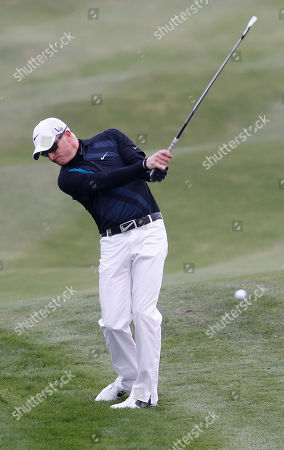 Simon Dyson Simon Dyson hits a ball during the second round of the BMW Masters golf tournament at the Lake Malaren Golf Club in Shanghai, China. Dyson, in a six-way tie for second going into the weekend at the BMW Masters, was disqualified Saturday morning for a rules violation that was discovered a few hours before he was to tee off in one of the final groups at Lake Malaren