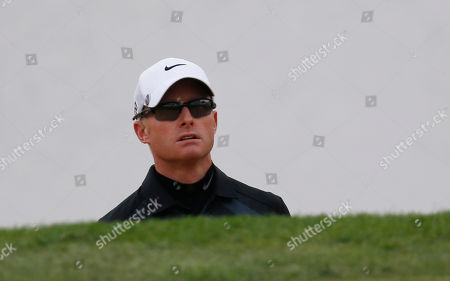 Simon Dyson Simon Dyson looks at the 18th green during the second round of the BMW Masters golf tournament at the Lake Malaren Golf Club in Shanghai, China. Dyson, in a six-way tie for second going into the weekend at the BMW Masters, was disqualified Saturday morning for a rules violation that was discovered a few hours before he was to tee off in one of the final groups at Lake Malaren