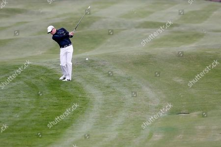 Simon Dyson Simon Dyson of England hits a ball during the second round of the BMW Masters golf tournament at the Lake Malaren Golf Club in Shanghai, China
